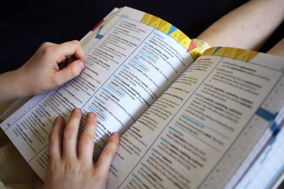 Learning New Words with Collins Children's Dictionary and Thesaurus