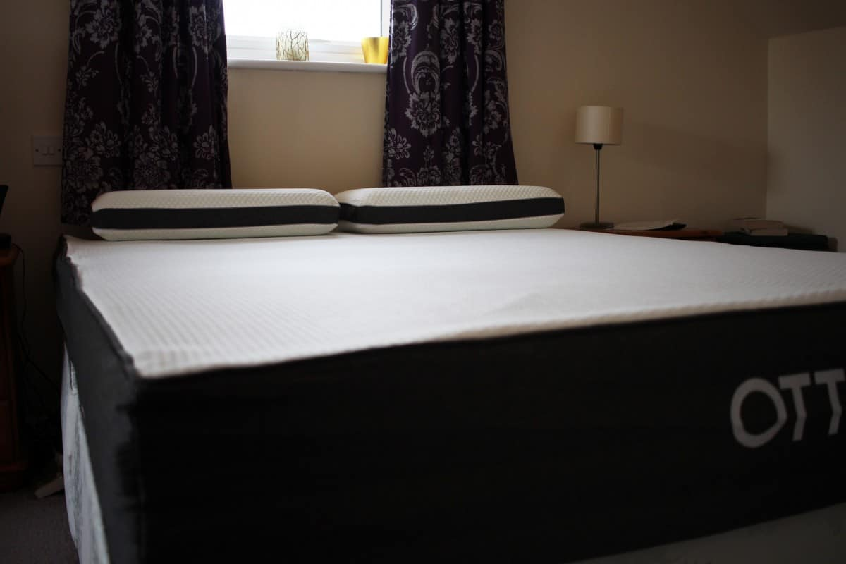 Getting a Good Night's Sleep with the Otty Memory Foam Mattress and Pillows