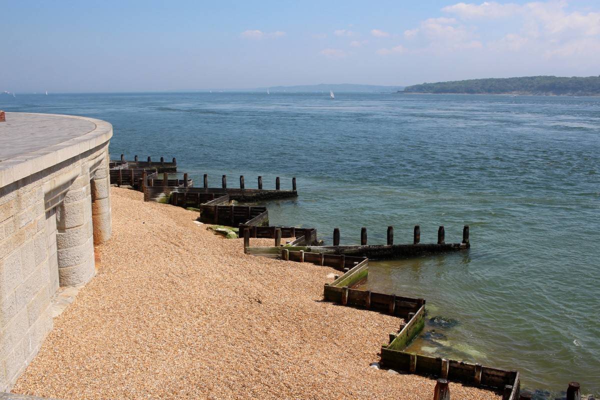 A Beautiful Day at Hurst Castle