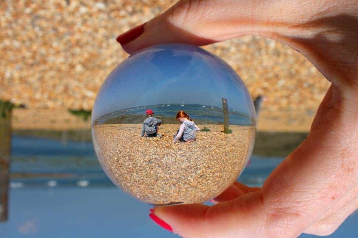 Lensball A Beautiful Day at Hurst Castle