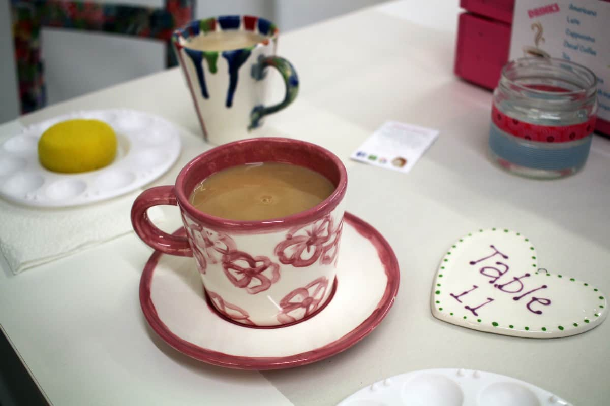 Discovering Mrs Potts' Place - Pottery Painting - Camberley, Surrey