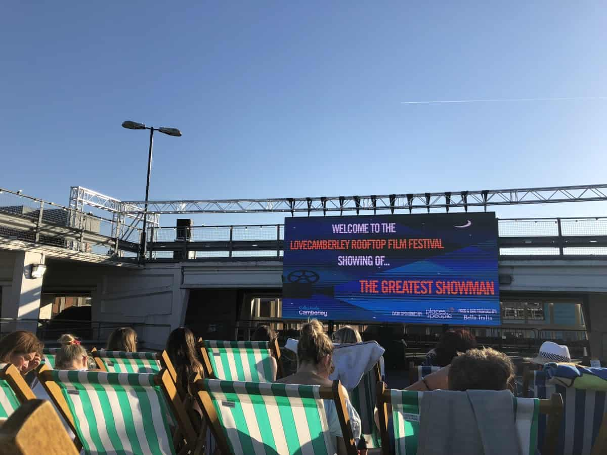 Camberley Rooftop Cinema