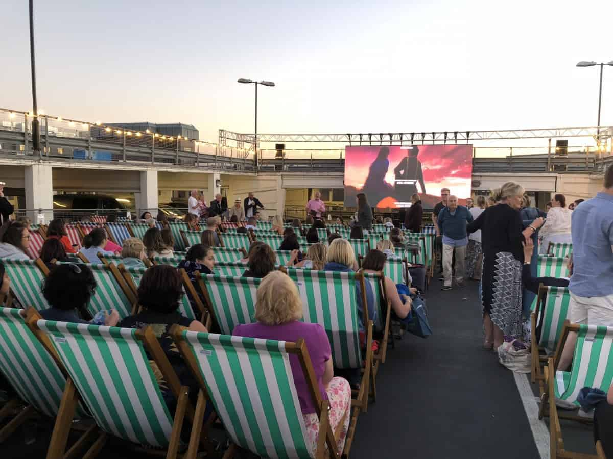 Camberley's Rooftop Film Festival: The Greatest Showman