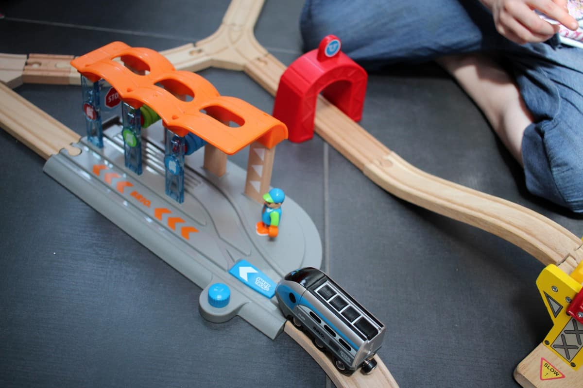 'Smart' Additions to our Brio Train Set