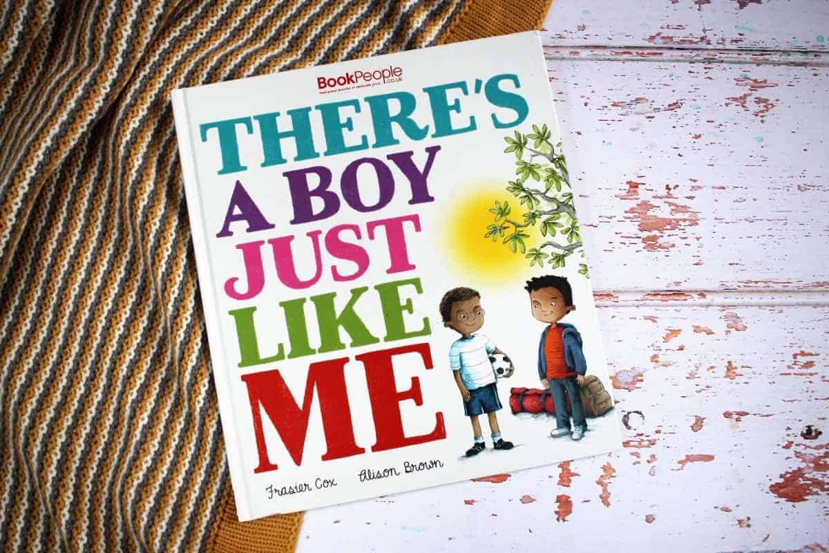 Review: There's a Boy Just Like Me from The Book People
