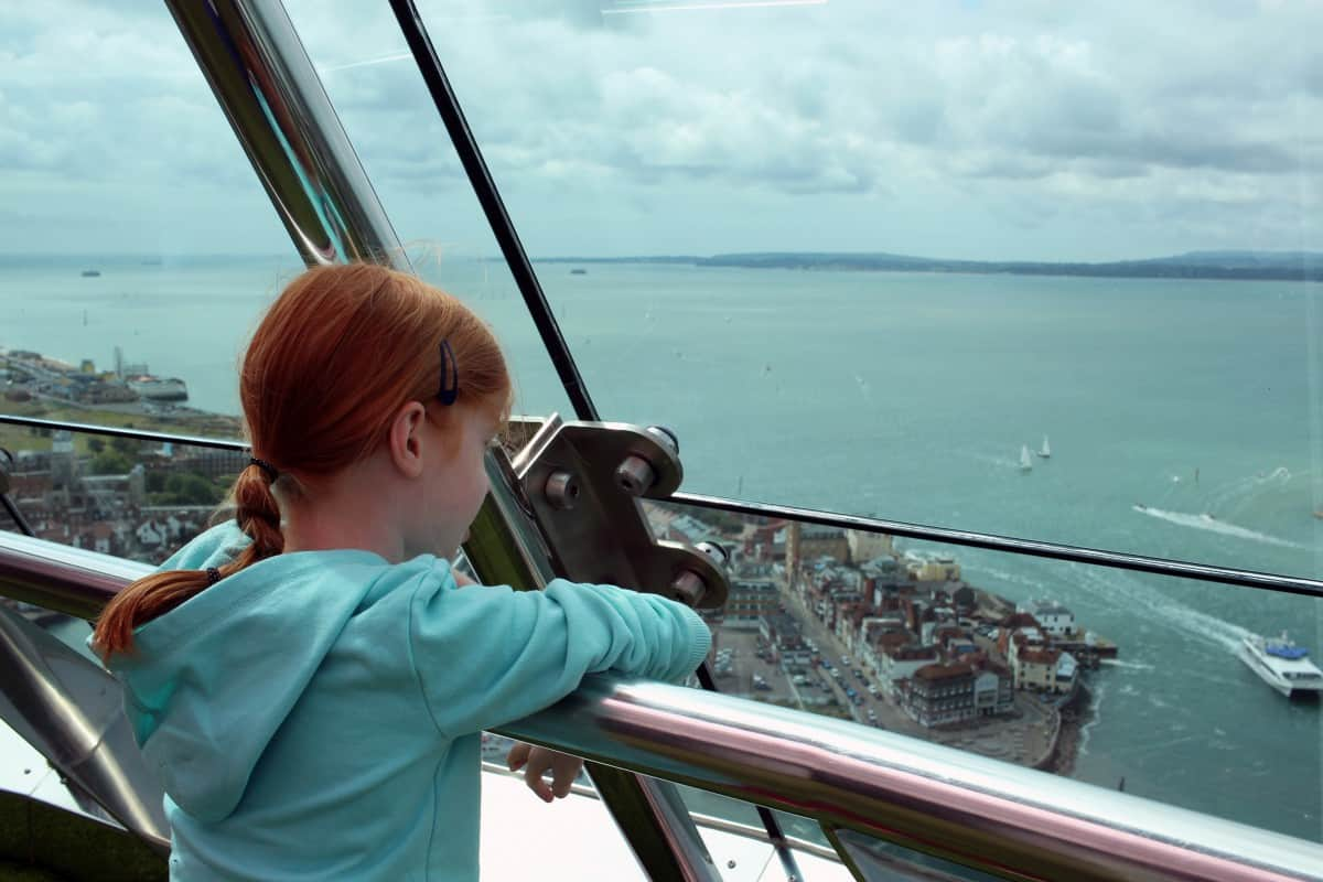 A Family Visit to Emirates Spinnaker Tower