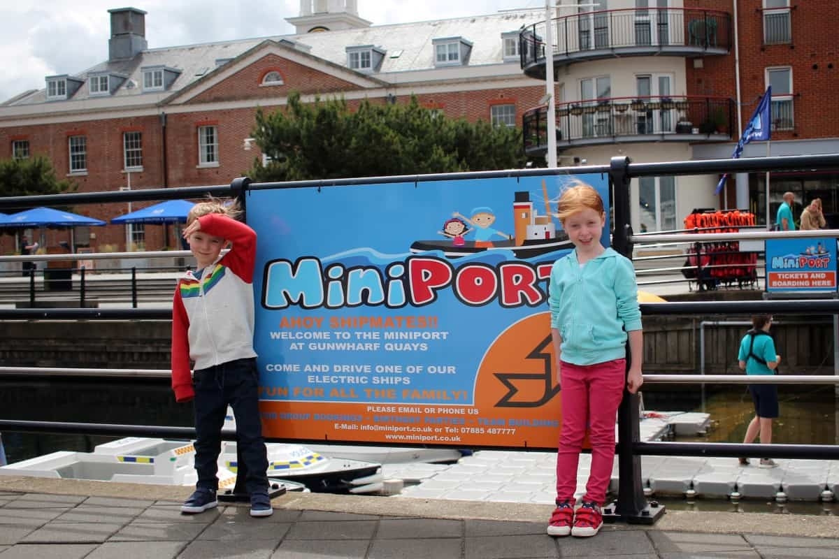 Mini Port at Gunwharf Quays, Portsmouth
