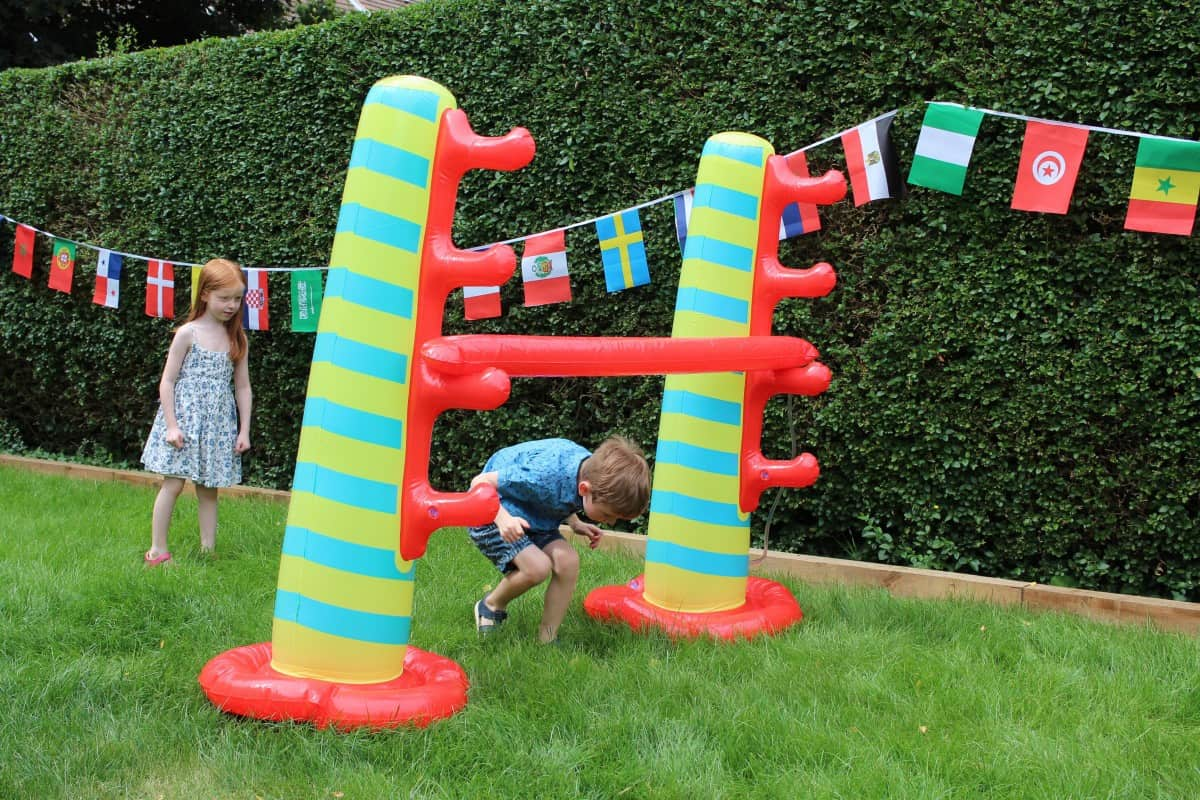 Preparing the Garden for a World Cup Party