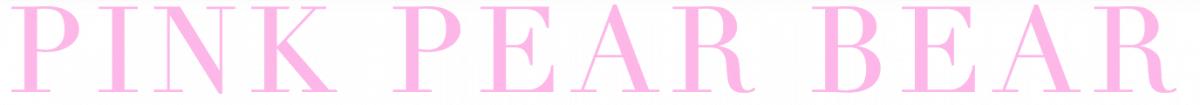Blogger Behind the Blog {Pink Pear Bear}