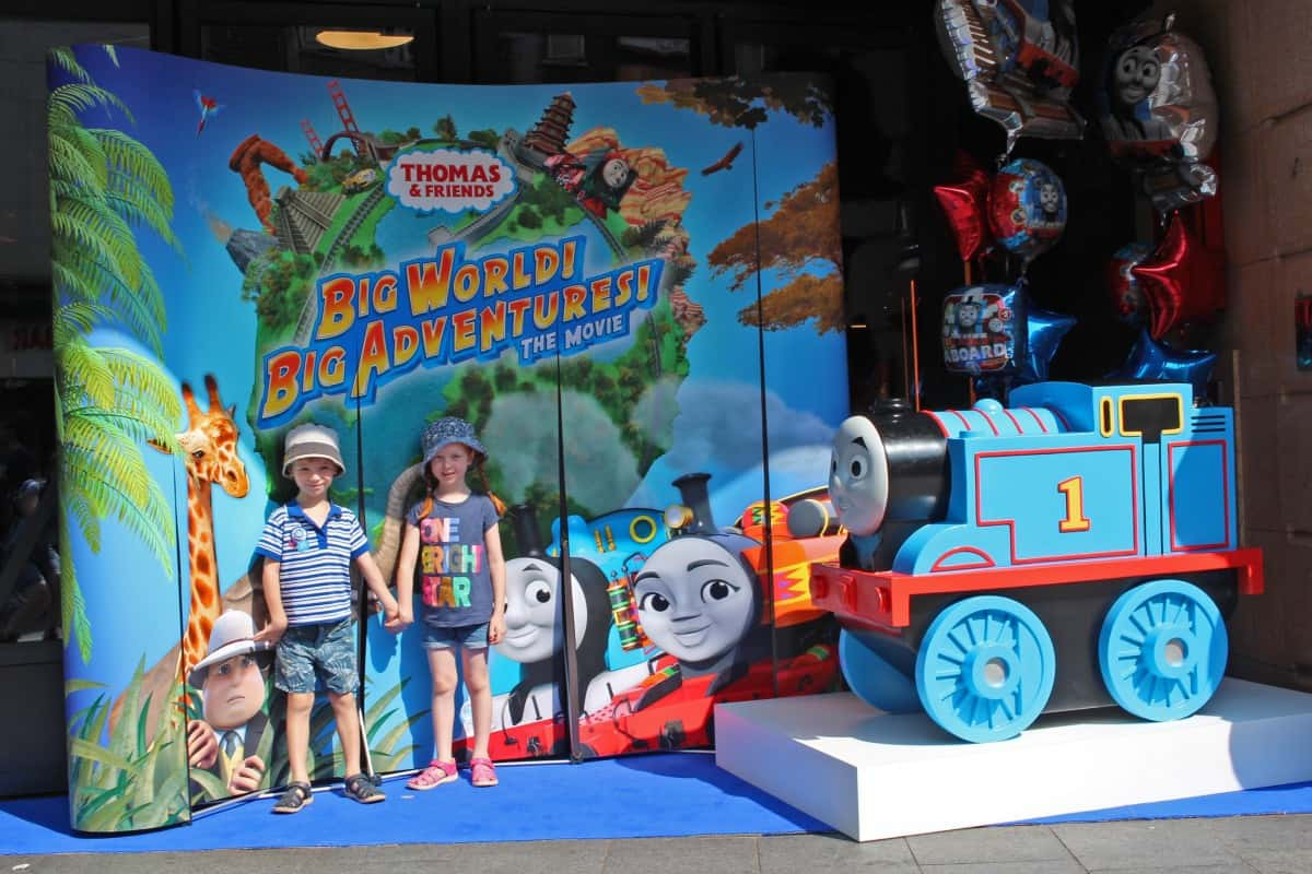 Thomas & Friends Big World! Big Adventures! The Movie Premier