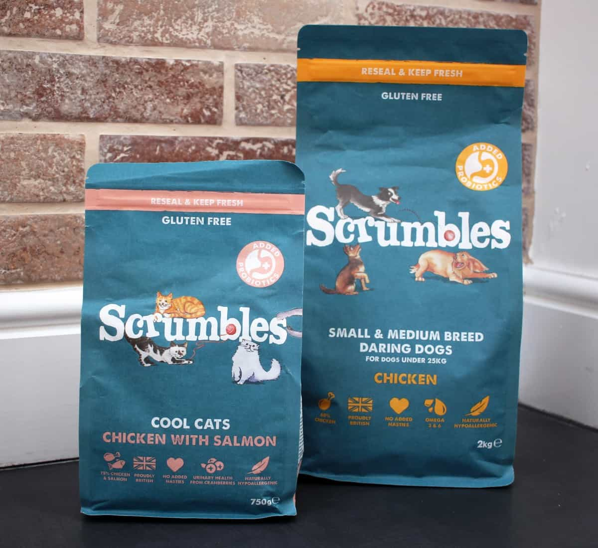 A Healthier Choice for Pets from Scrumbles - and Win!