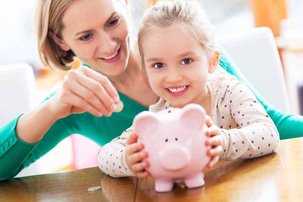 Investing in your child's future – teaching them good spending habits