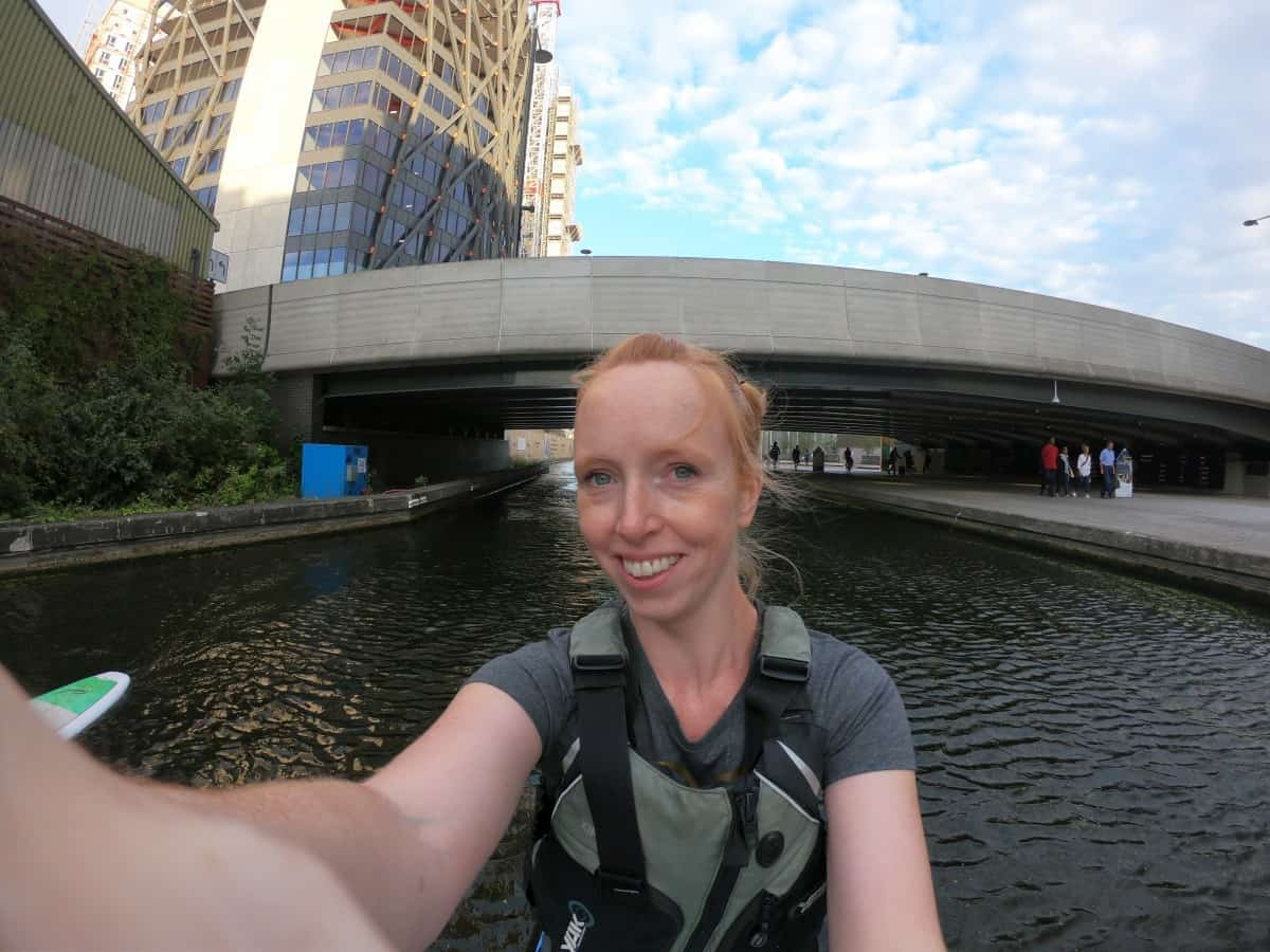 Paddle Boarding in London with The Indytute and Active360