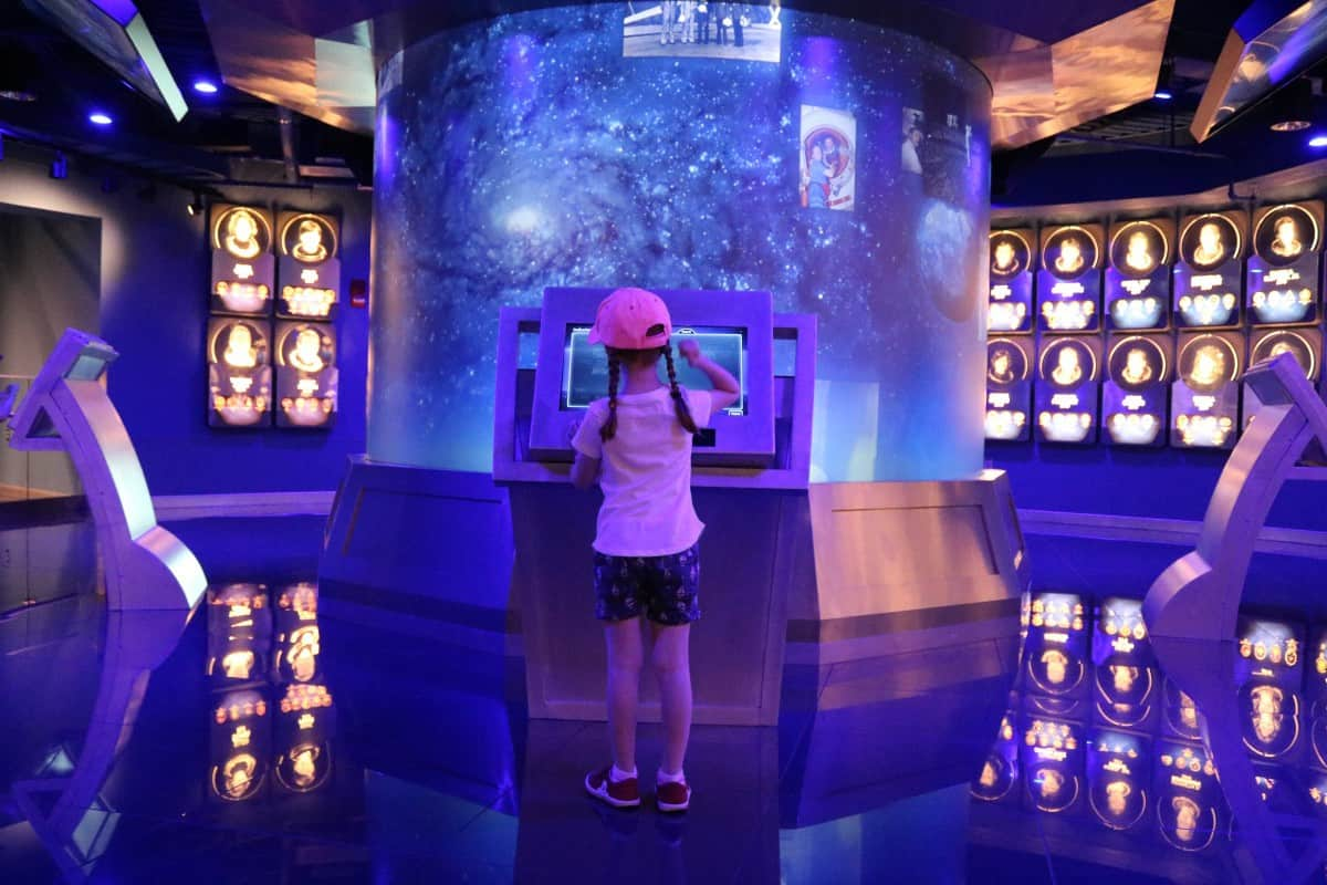 At Day at Kennedy Space Center with Kids