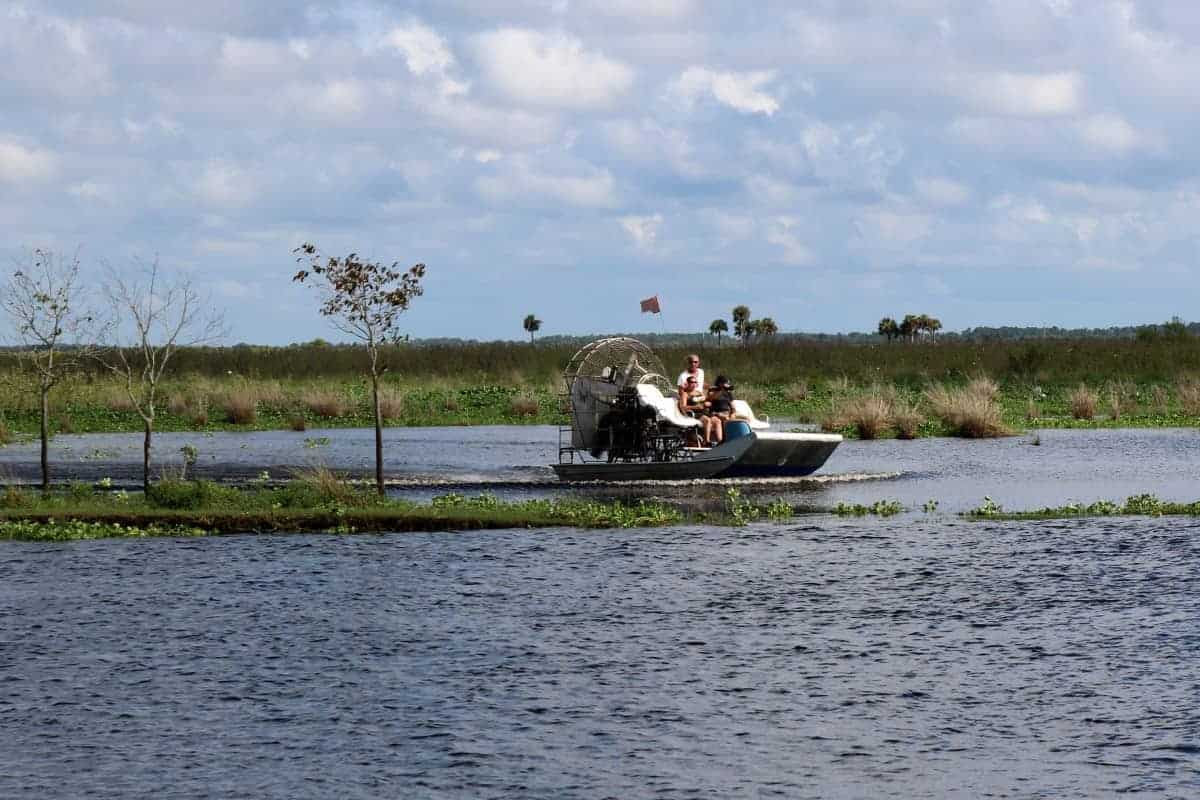 An Old Fashioned Airboat Ride in Florida