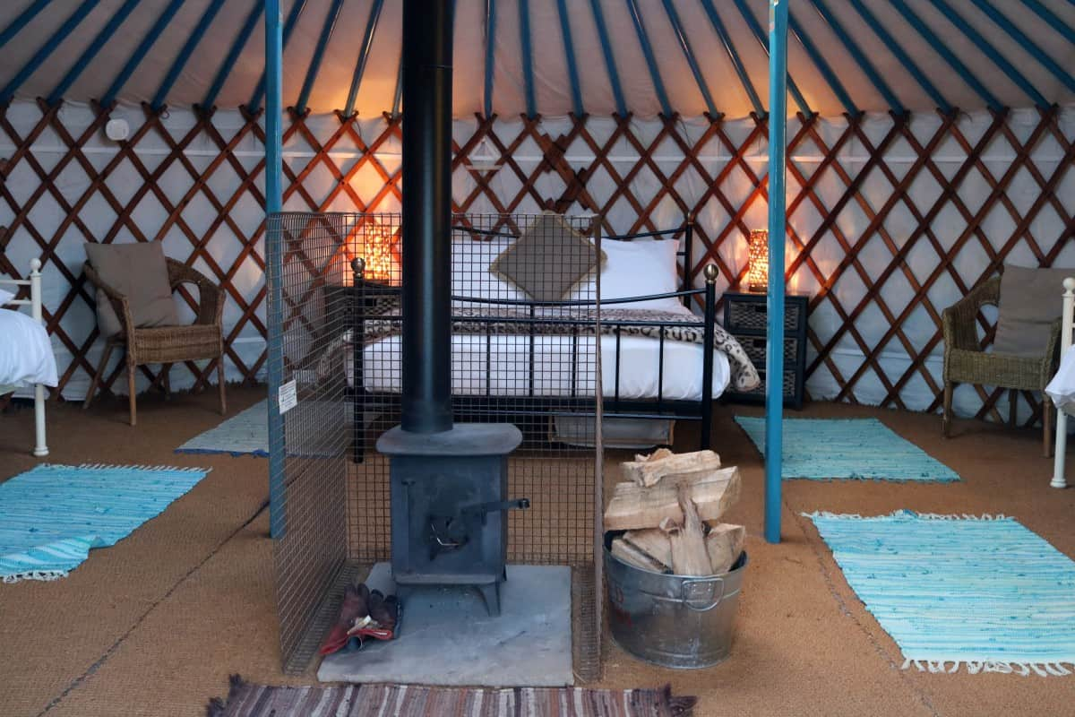 A Relaxing Weekend at Caalm Camp - Our First Yurt Experience