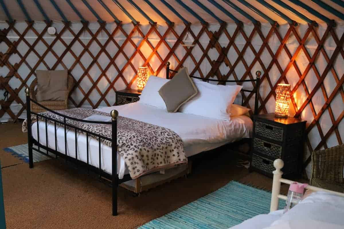 A Relaxing Weekend at Caalm Camp – Our First Yurt Experience