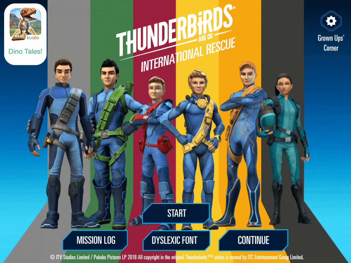 Introducing the new Thunderbirds Are Go! International Rescue Mobile Game