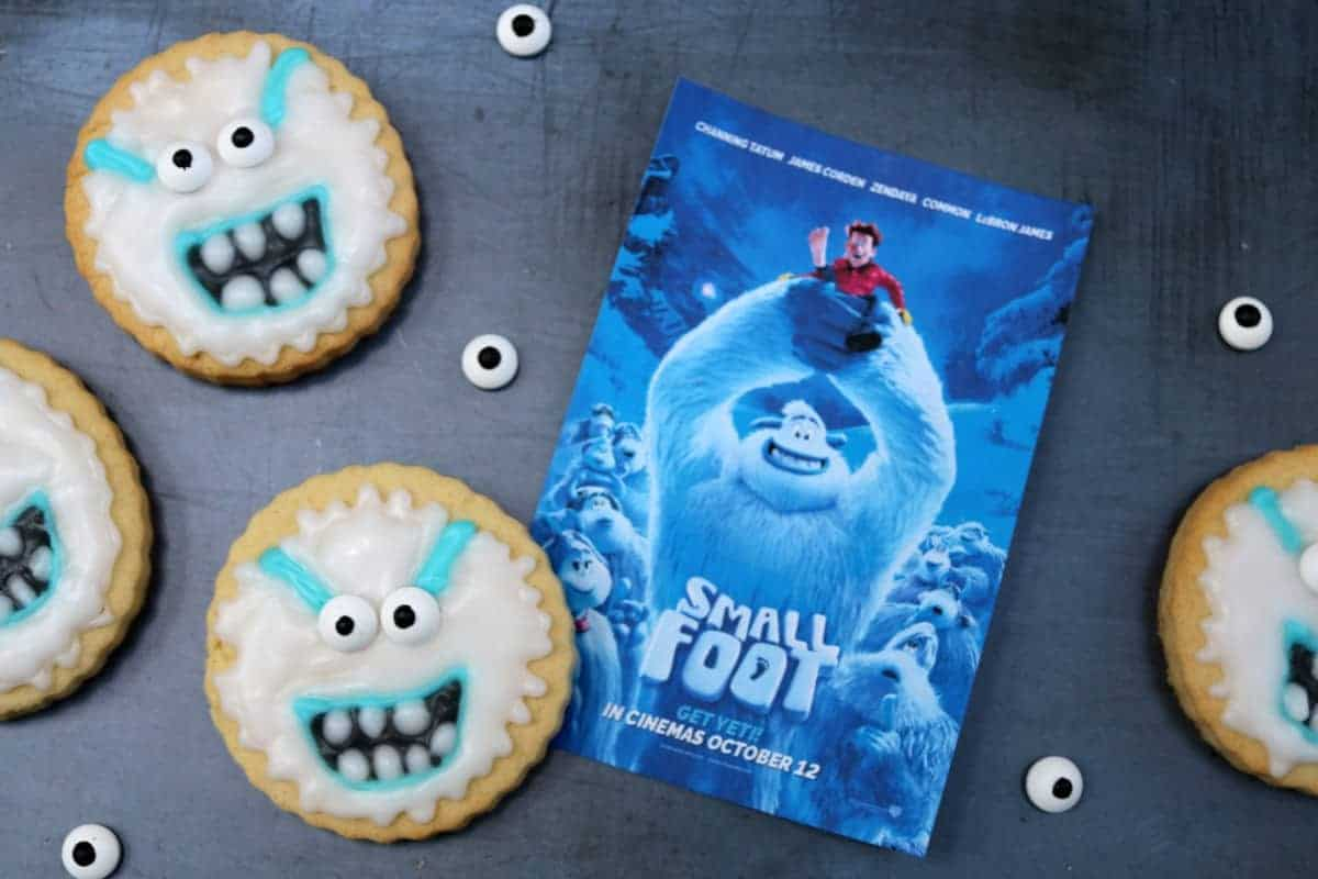 Celebrating the Launch of Small Foot with a Yeti Cookies Recipe