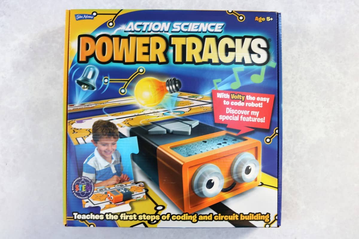 Introducing the Children to Coding with Power Tracks