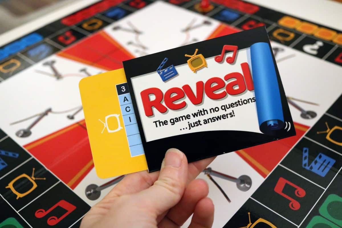 Reveal from Paul Lamond Games Review and Giveaway