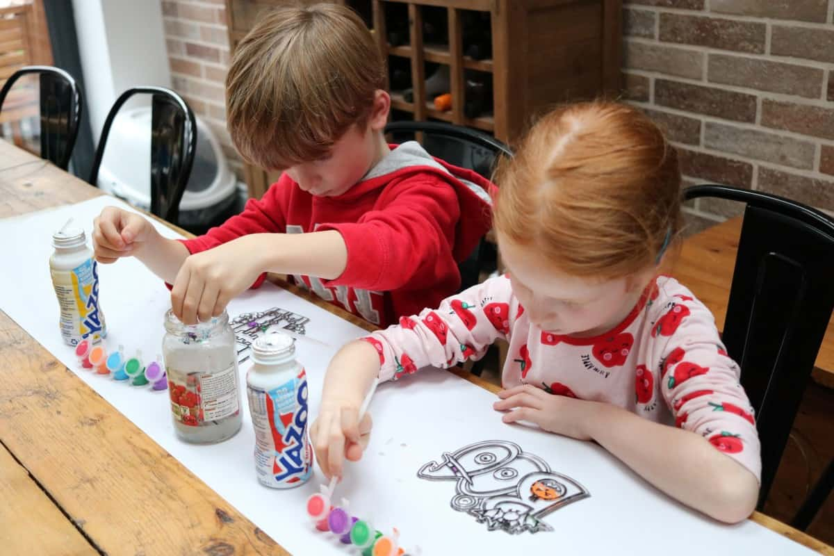 Entertaining the Kids over Half Term with Yazoo #ShakeTesters