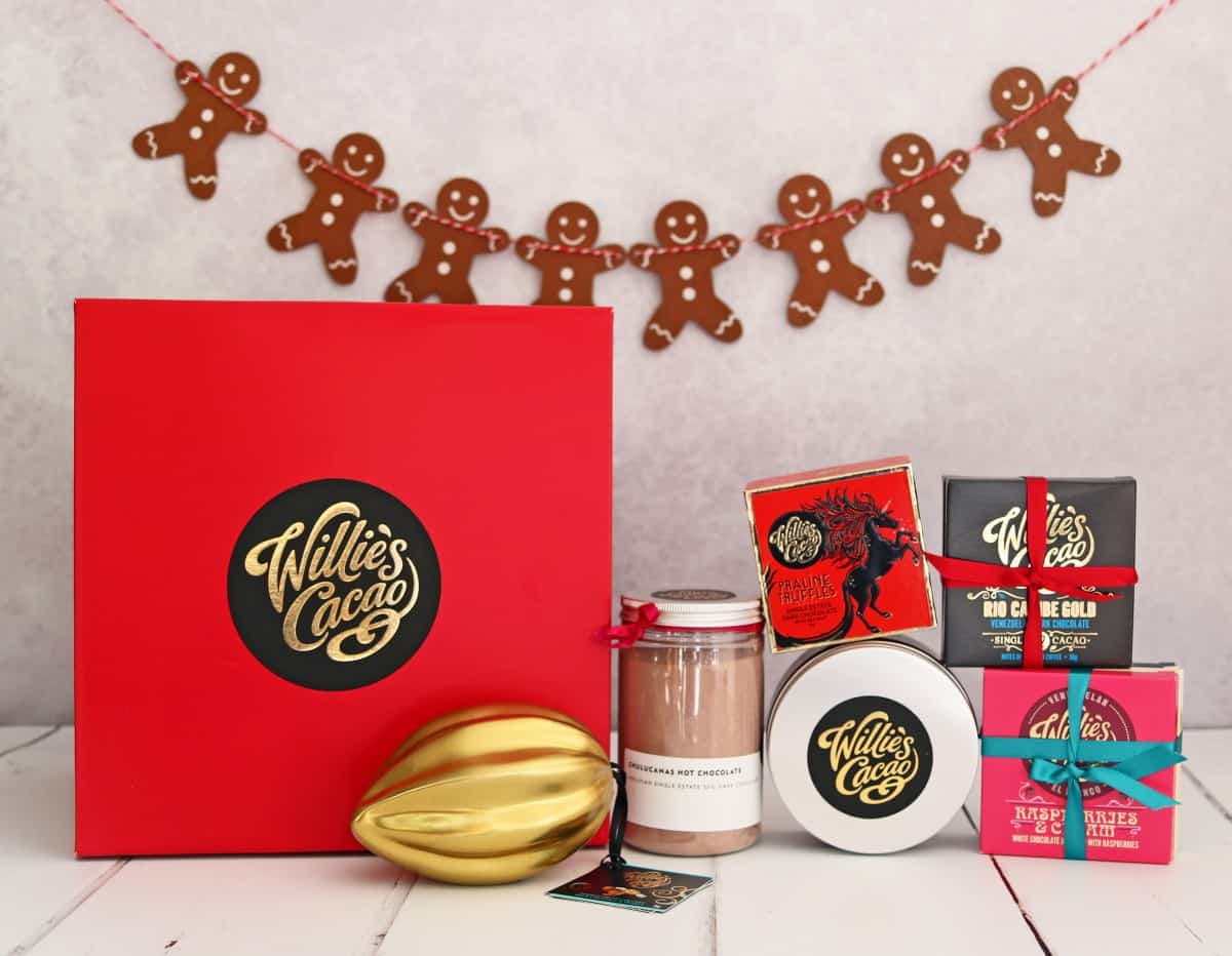 Gifts the Whole Family Can Enjoy - Willie's Cacao Sweet Dreams Hamper
