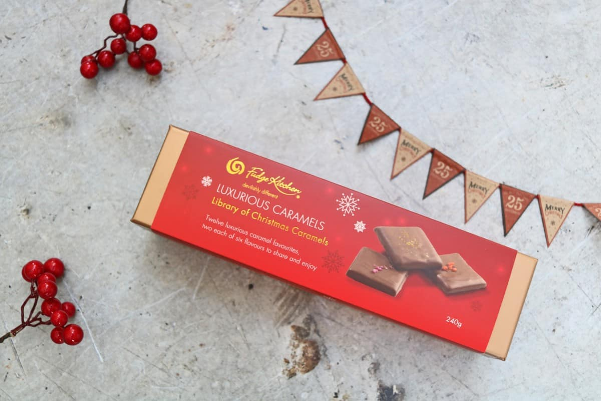 Gifts the Whole Family Can Enjoy - Fudge Kitchen's Christmas Caramels