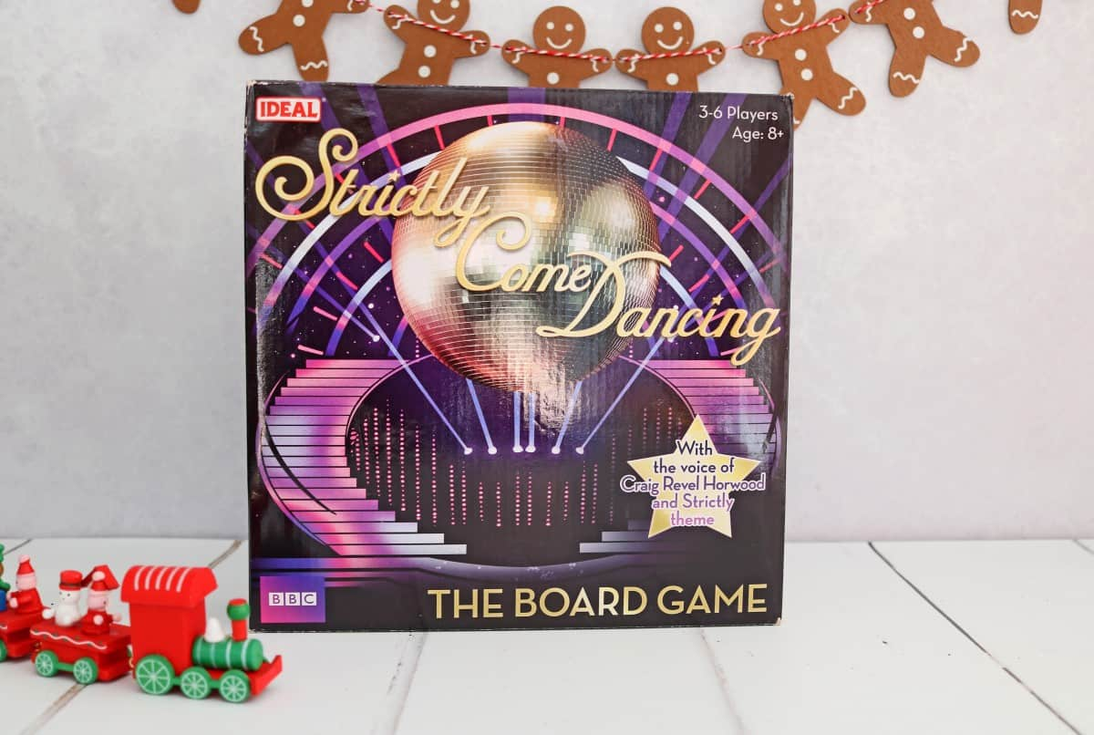 Gifts the Whole Family Can Enjoy - Strictly Come Dancing Board Game