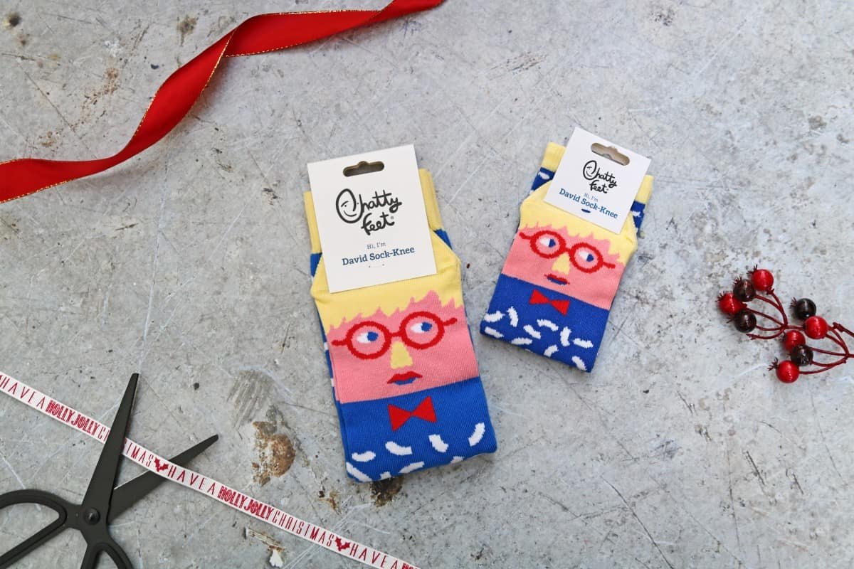Gifts the Whole Family Can Enjoy - Chatty Feet Socks