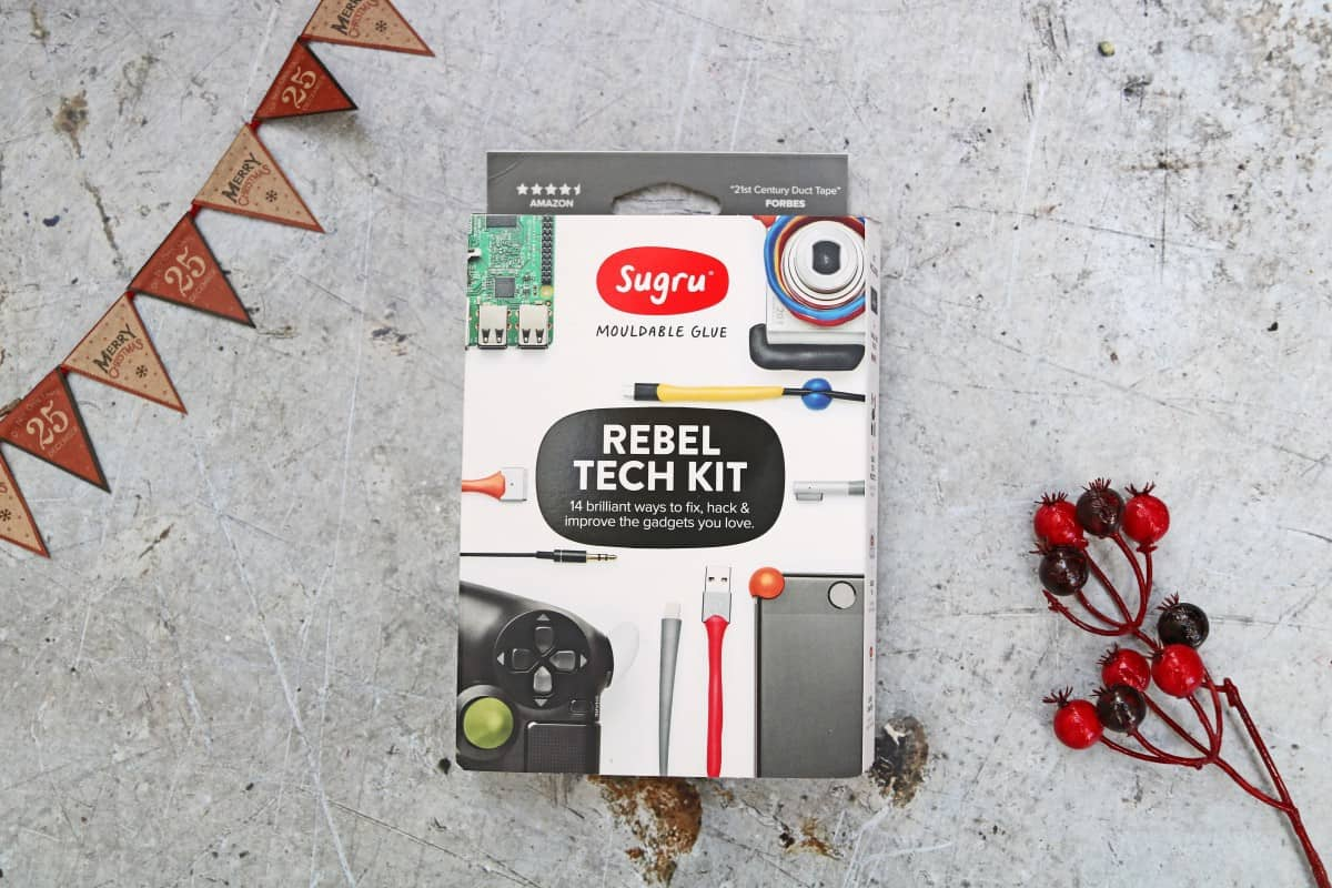 Stocking Fillers for the Whole Family - Sugru Rebel Tech Kit