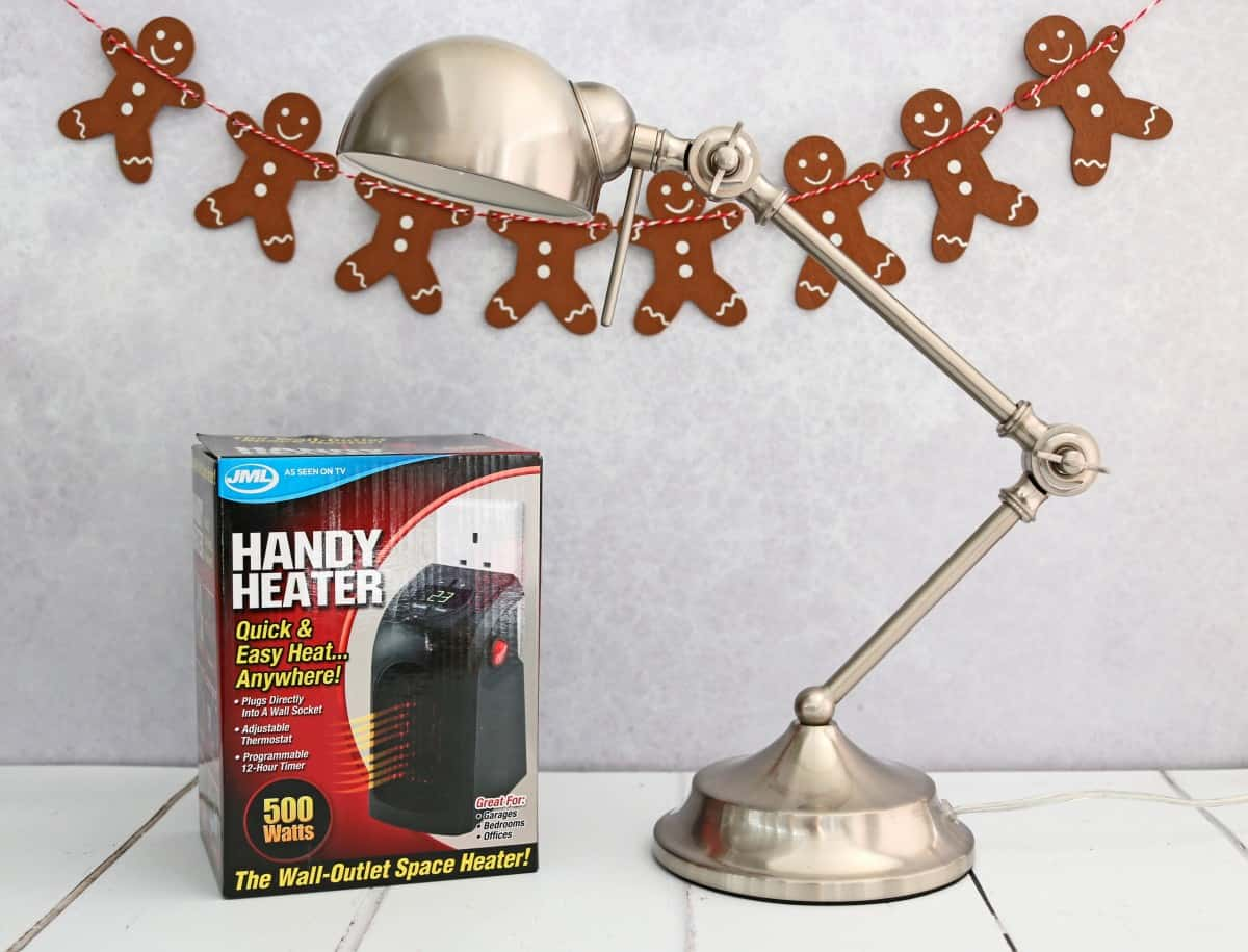 Gifts for People who Work from Home - Socket Store Lamp | JML Handy Heater