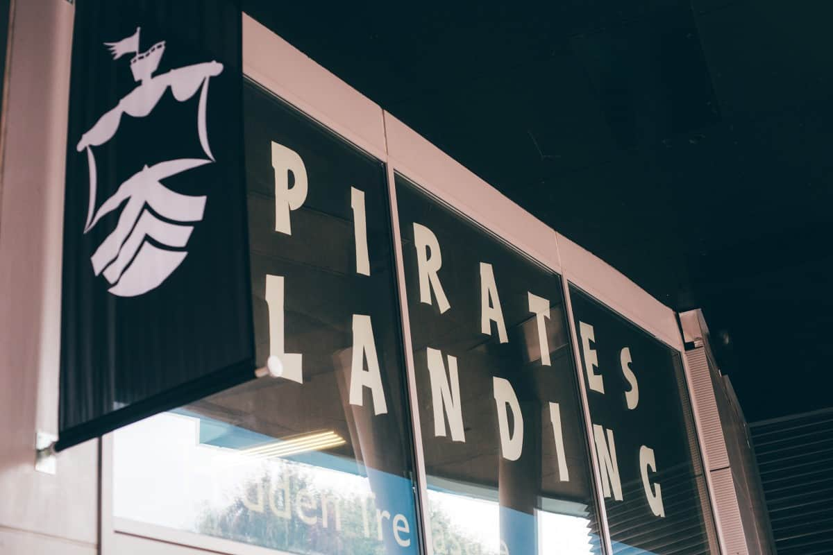 Our First Pirates Landing Experience - Camberley, Surrey