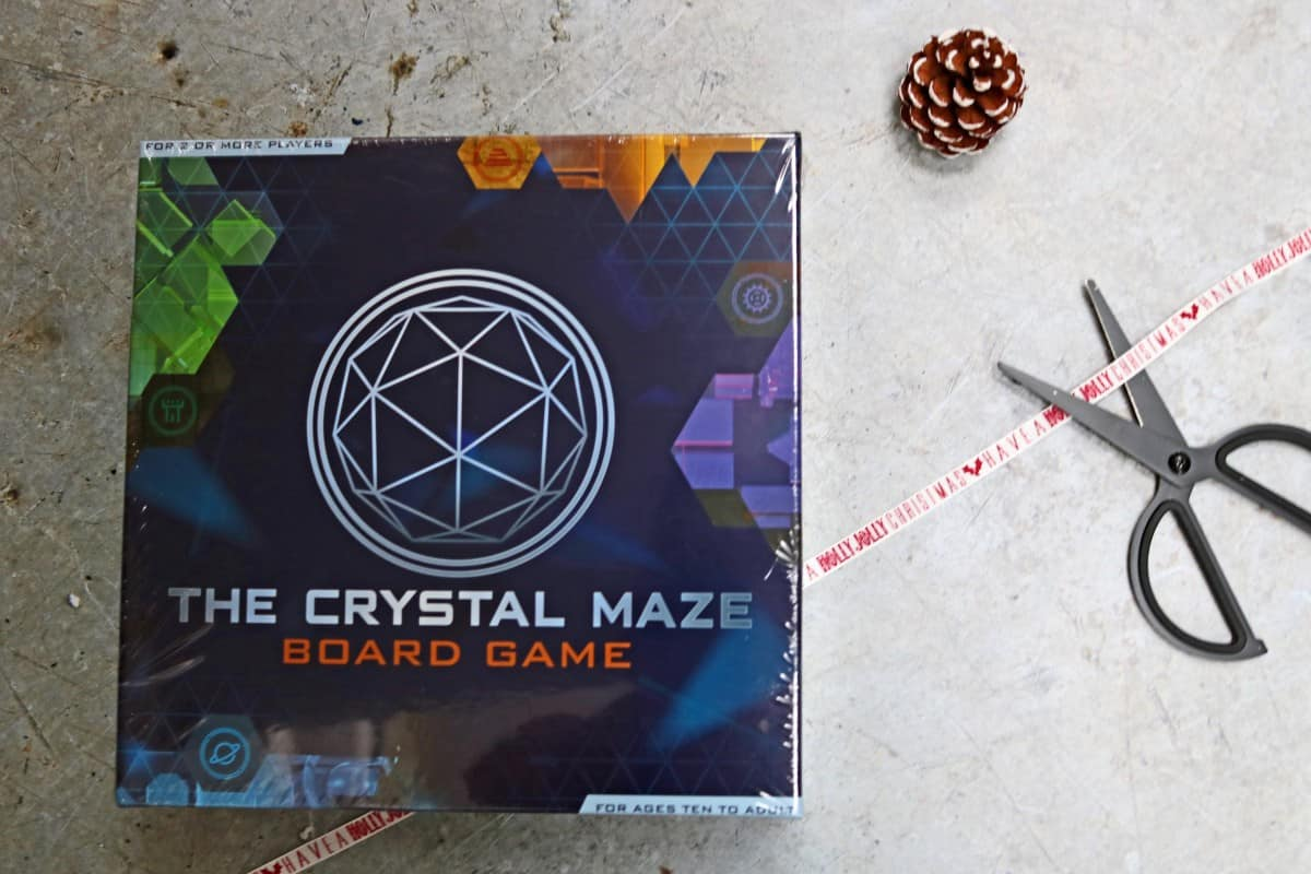 Gifts the Whole Family Can Enjoy - The Crystal Maze Board Game