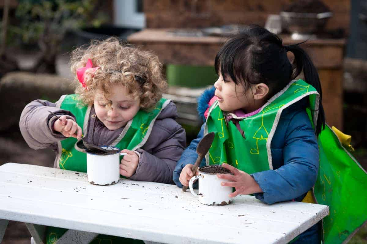 Aviva and Dorking Nursery School building a stronger community