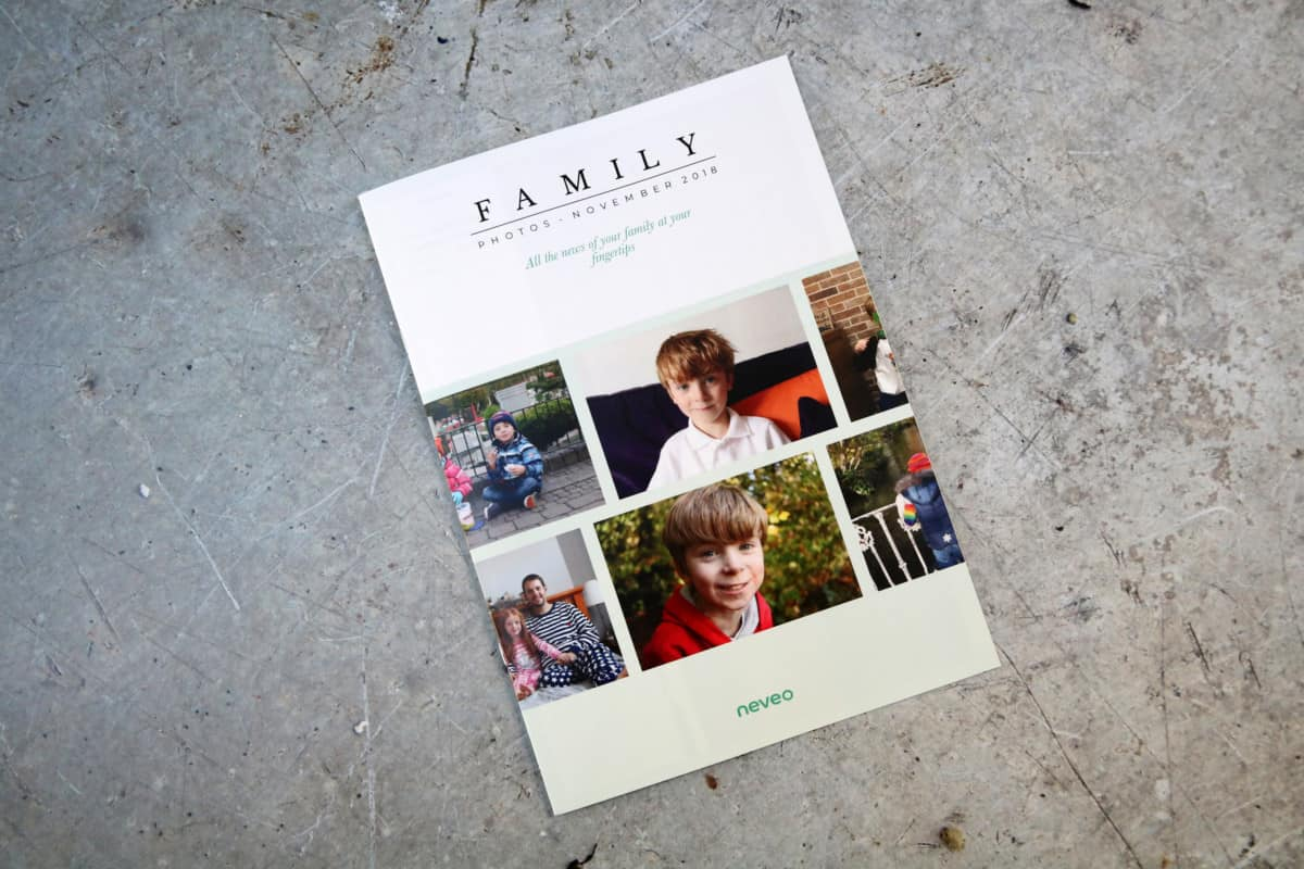 Sending Family a Monthly Update with Neveo - Review