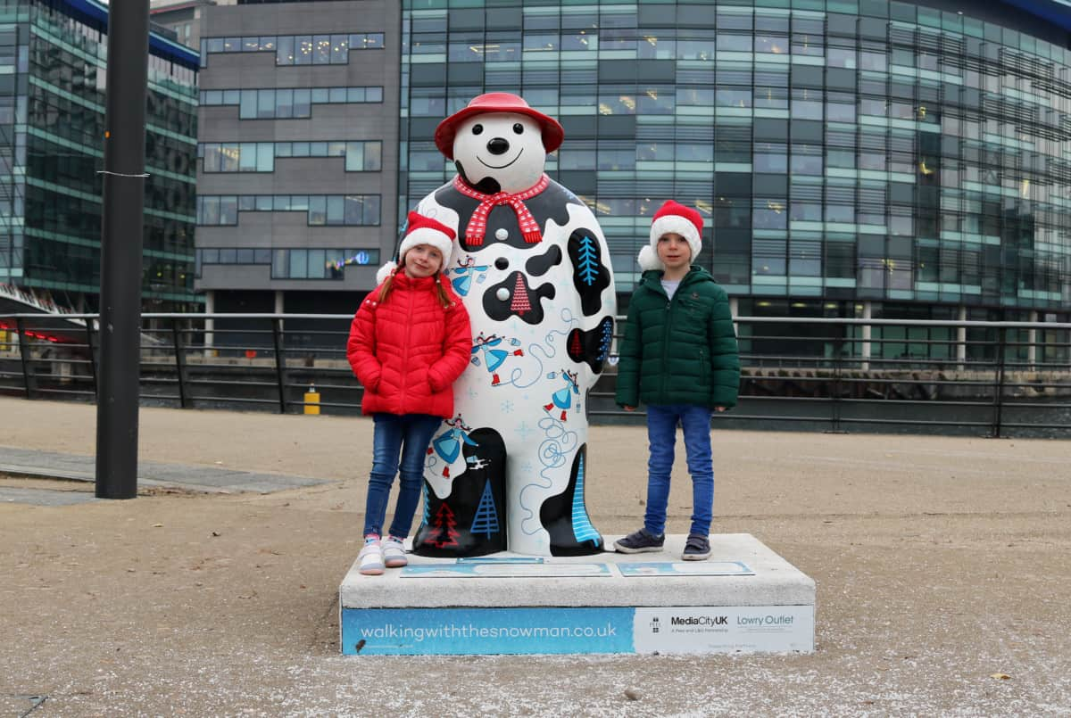 A Festive Weekend in Salford Quays #TheQuaysat18