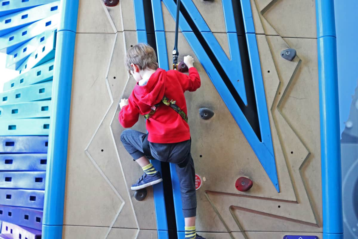 Our First Family Climbing Experience - Rock Up Whiteley