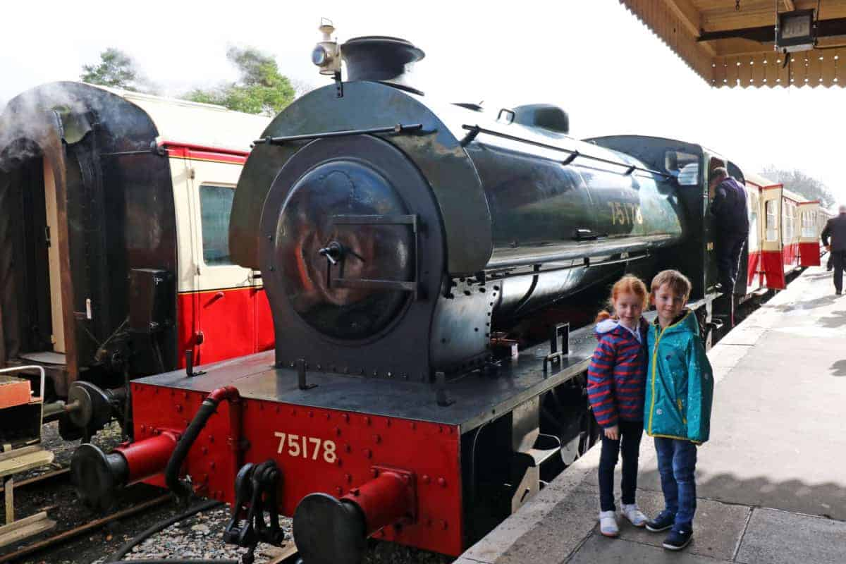 A Journey on the Bodmin and Wenford Railway