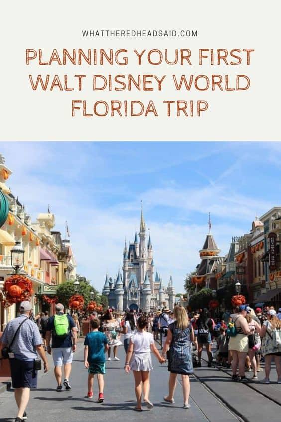 Planning your First Disney World Trip