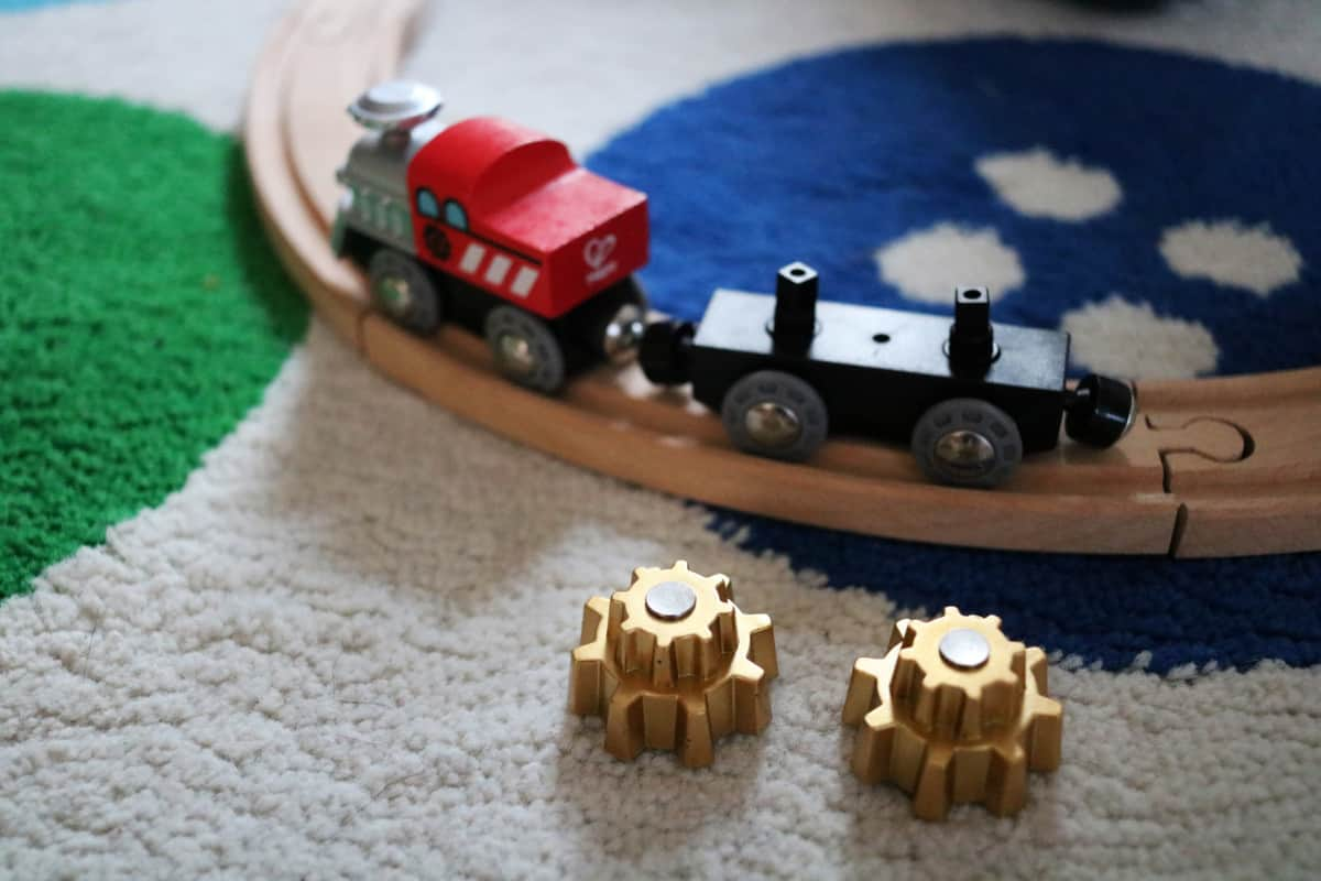 Expanding our Wooden Train collection with Hape