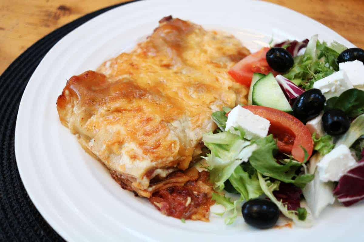 Slow Cooker Lasagne Recipe