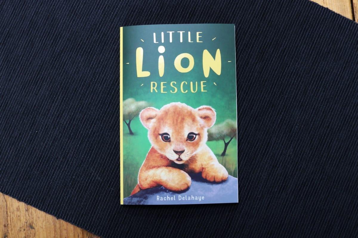 Little Lion Rescue - Rachel Delahaye