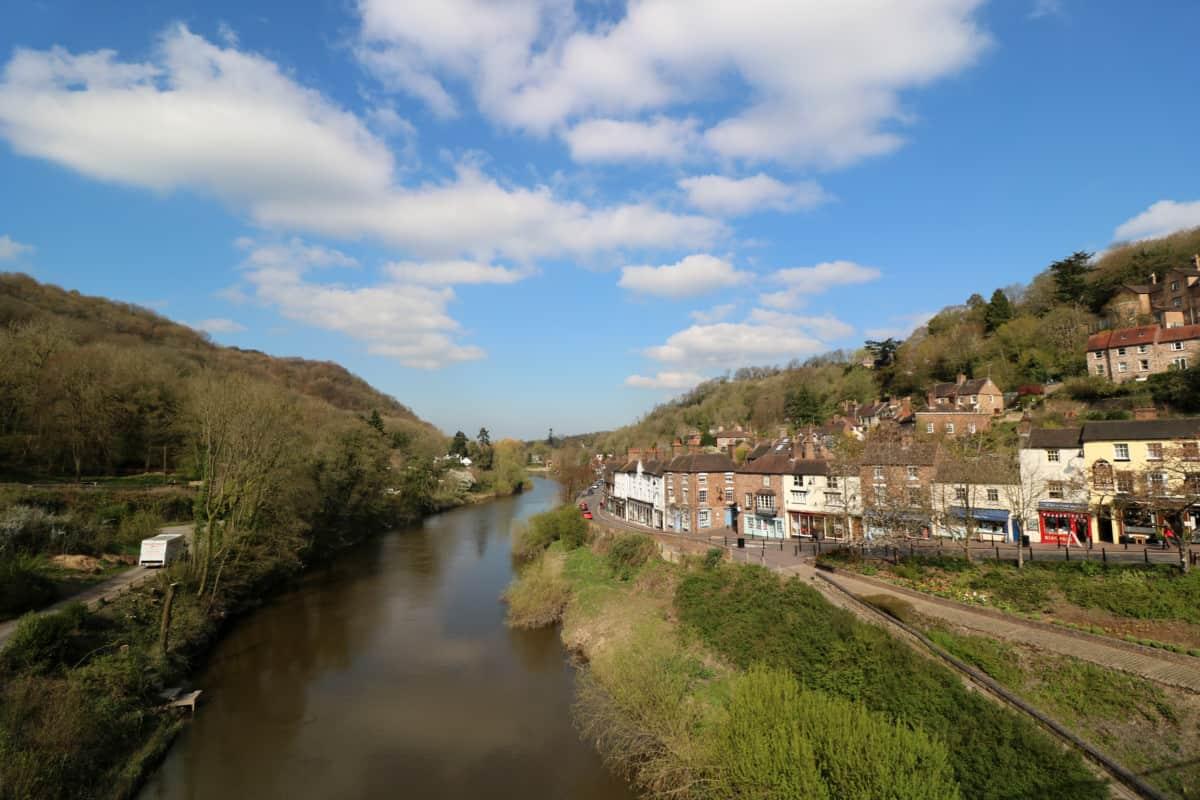Visiting the Ironbridge Shropshire