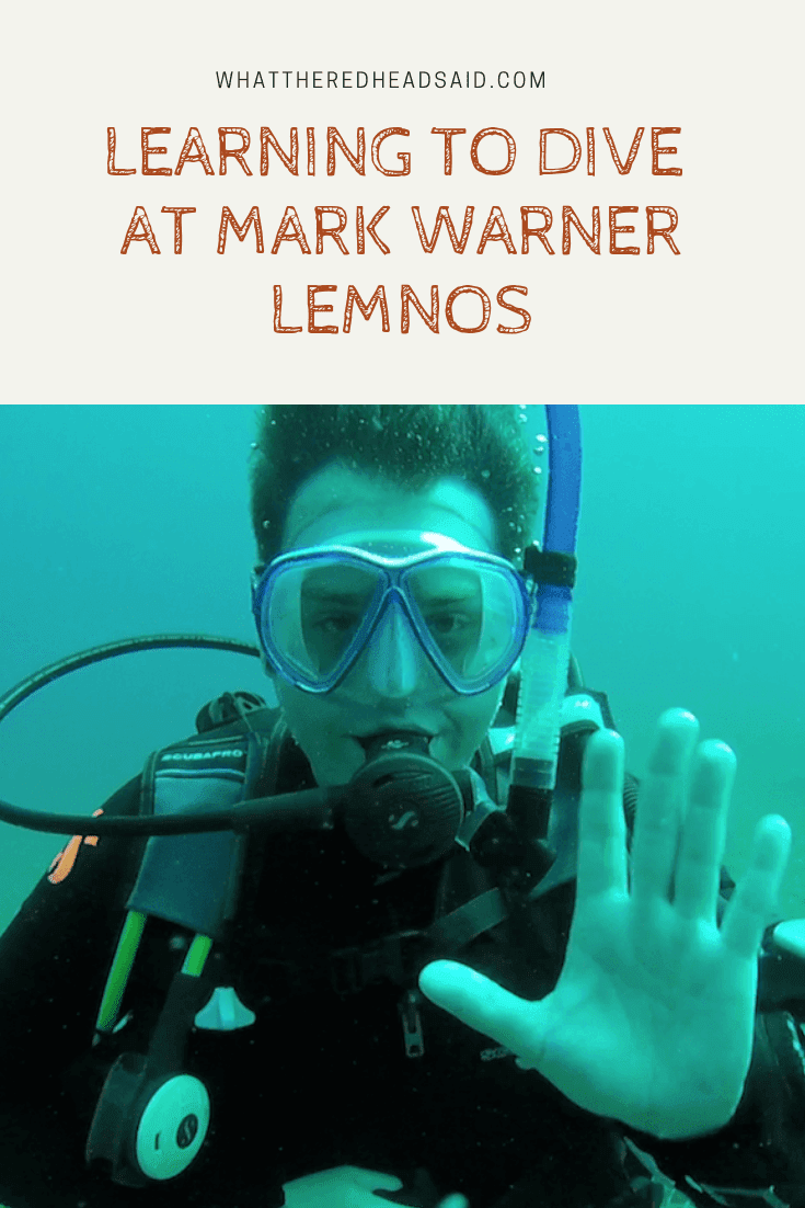 Learning to Dive with InDepth at Mark Warner Lemnos