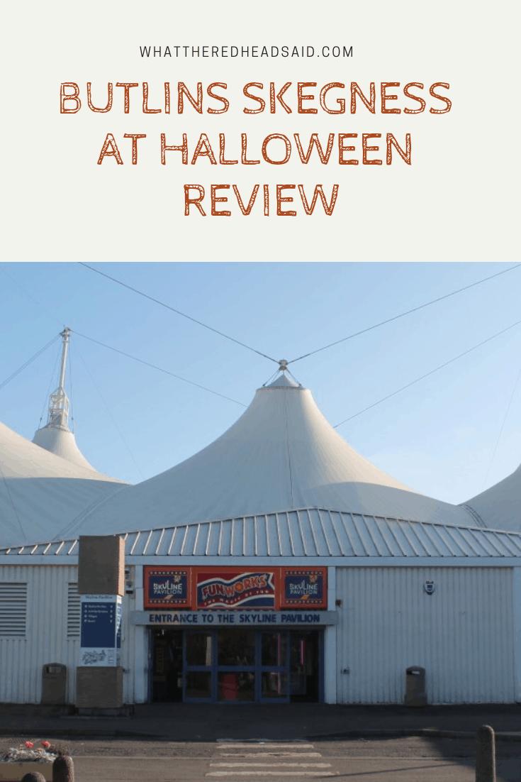 Butlins Skegness at Halloween Review