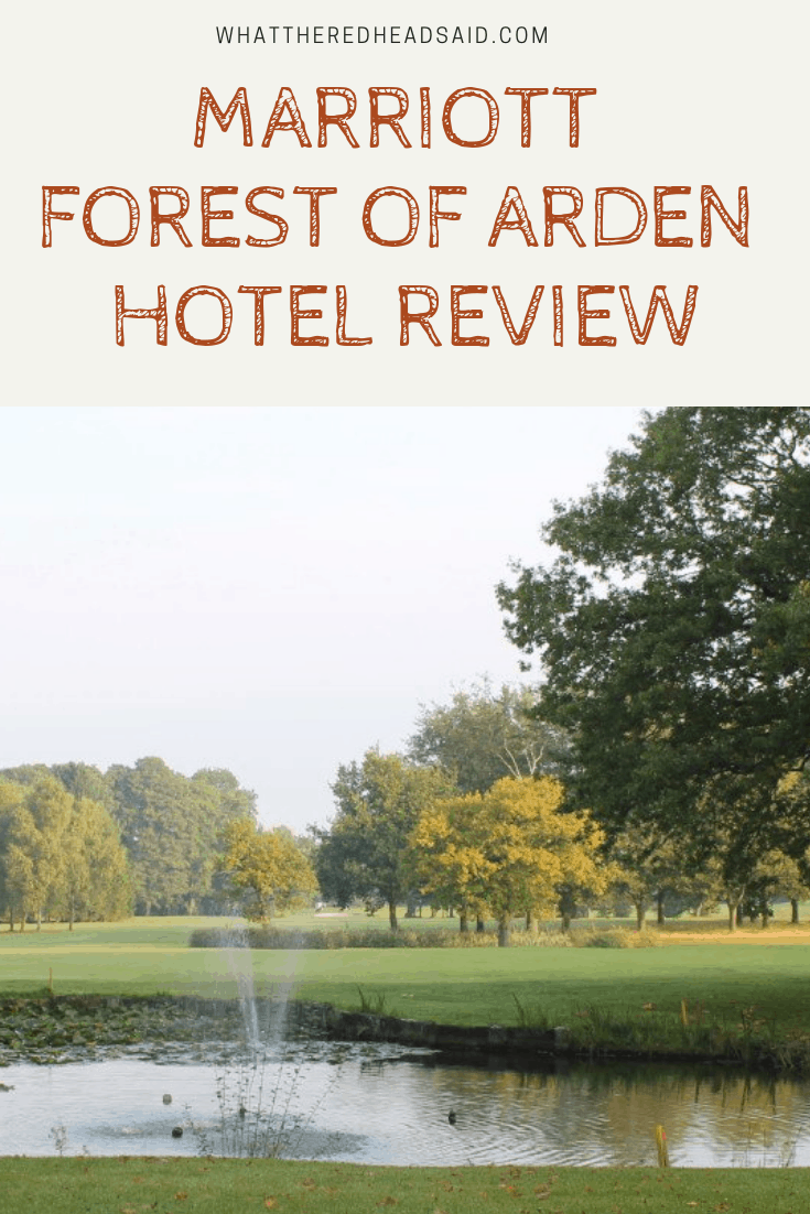 Marriott Forest of Arden Hotel Review