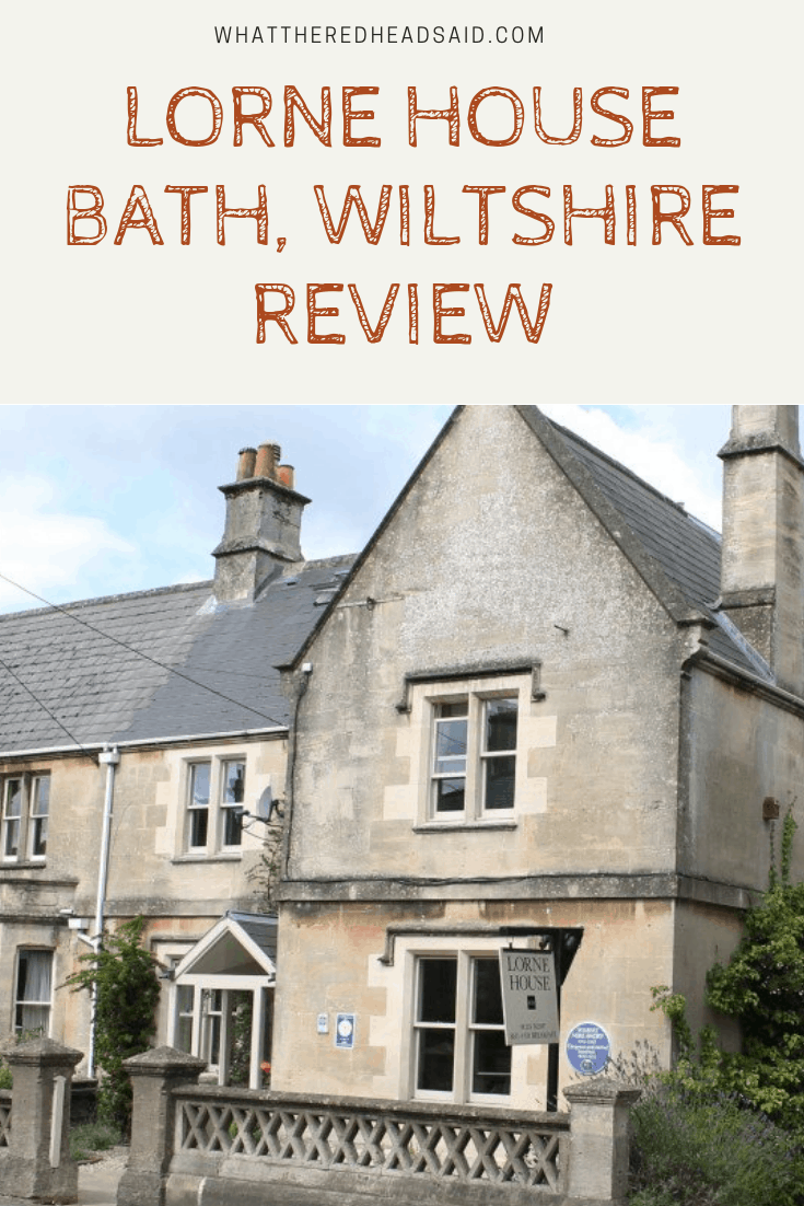 Lorne House - Bath, Wiltshire Review