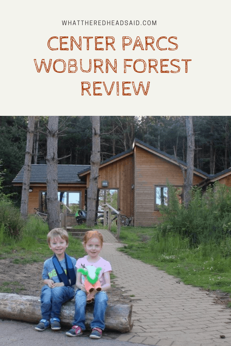 Center Parcs Woburn Forest {Accomodation and Food} Review