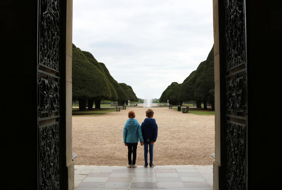 A Family Trip to Hampton Court Palace